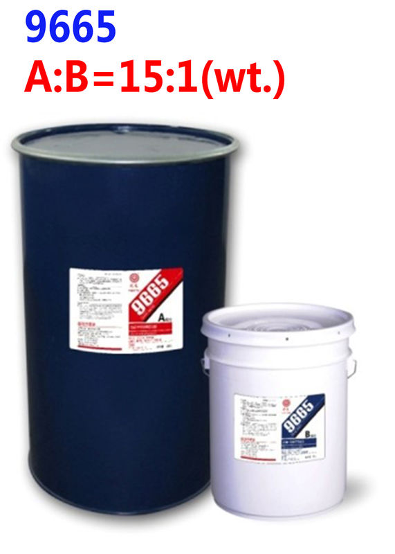 Two component silicone sealant construction adhesive 9665